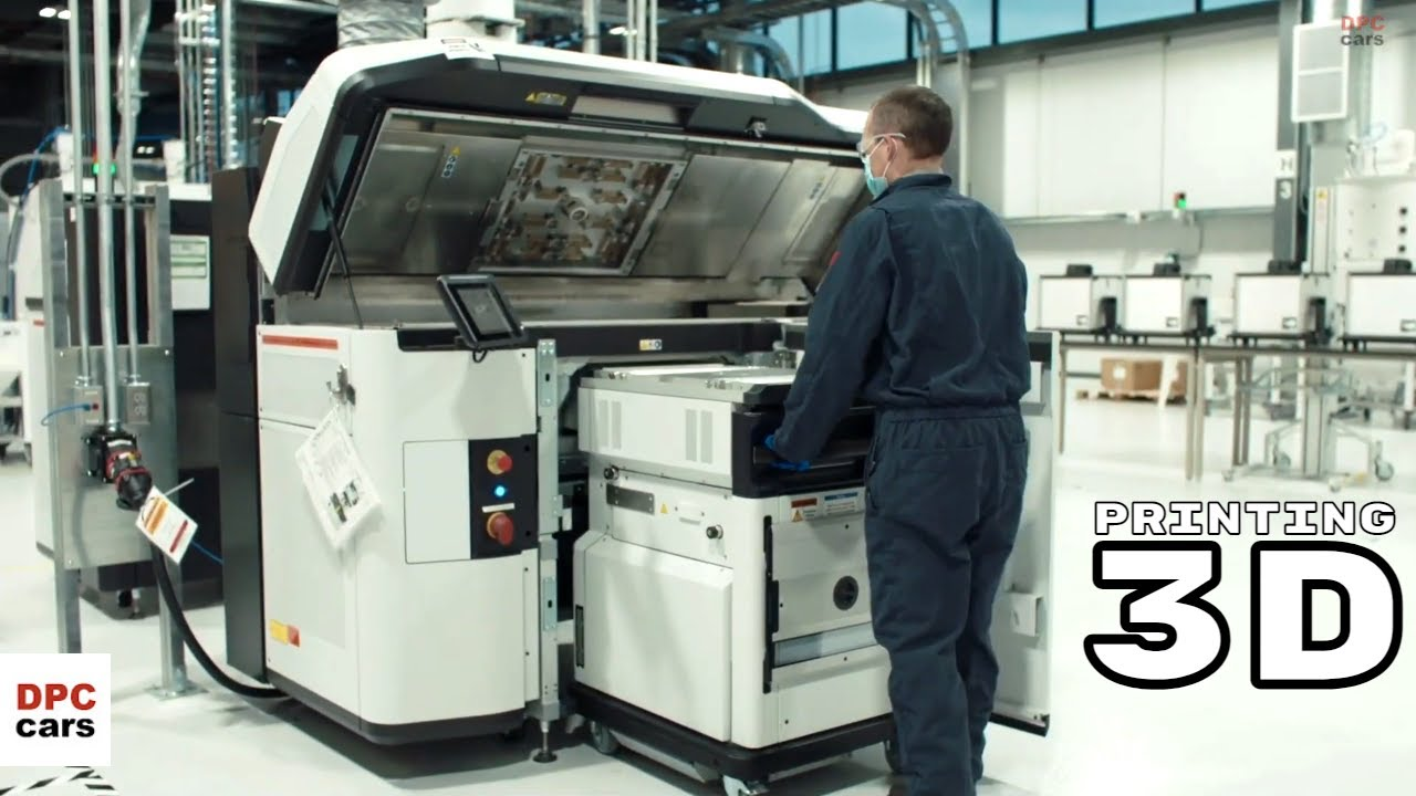 GM Dedicated to 3D Printing