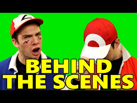Behind the Scenes: Ash vs Red Rap Battle