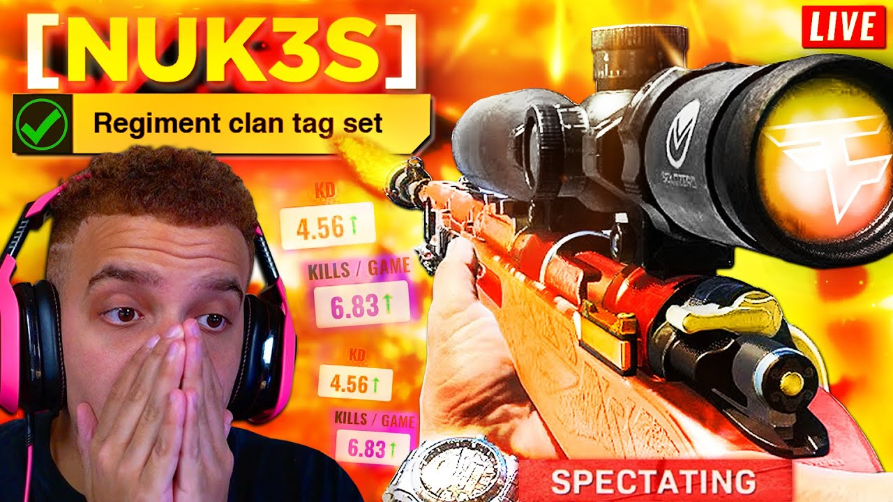 I SPECTATED WARZONE SOLOS AND WINNER JOINS FAZE NUKE SQUAD! ☢️