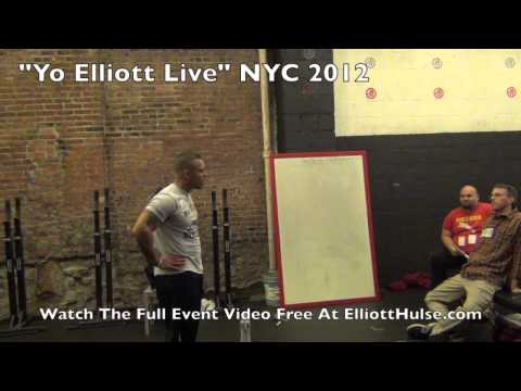 How To Confidently Command Respect [Yo Elliott Live NYC 2012]