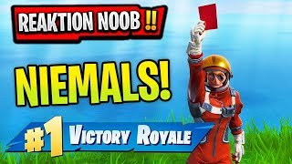 Reaktion auf NOOB und PRO in FORTNITE 😱🔥