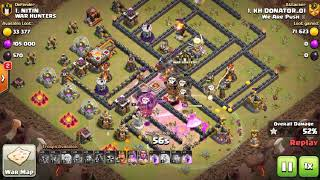 Amazing Lava and Balloons attack TH11 - clash of clans best clan war attacks - PH Gamer