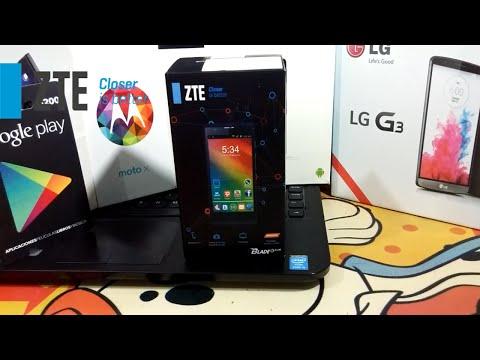 Unboxing ZTE BLADE G LUX // MegaDroidApps