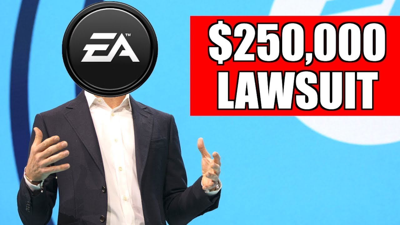 $250,000 Lawsuit vs EA Games! (Gaming News) - $250,000 Lawsuit vs EA Games could potentially happen due to all the commotion around loot boxes and Star Wars Battlefront 2!