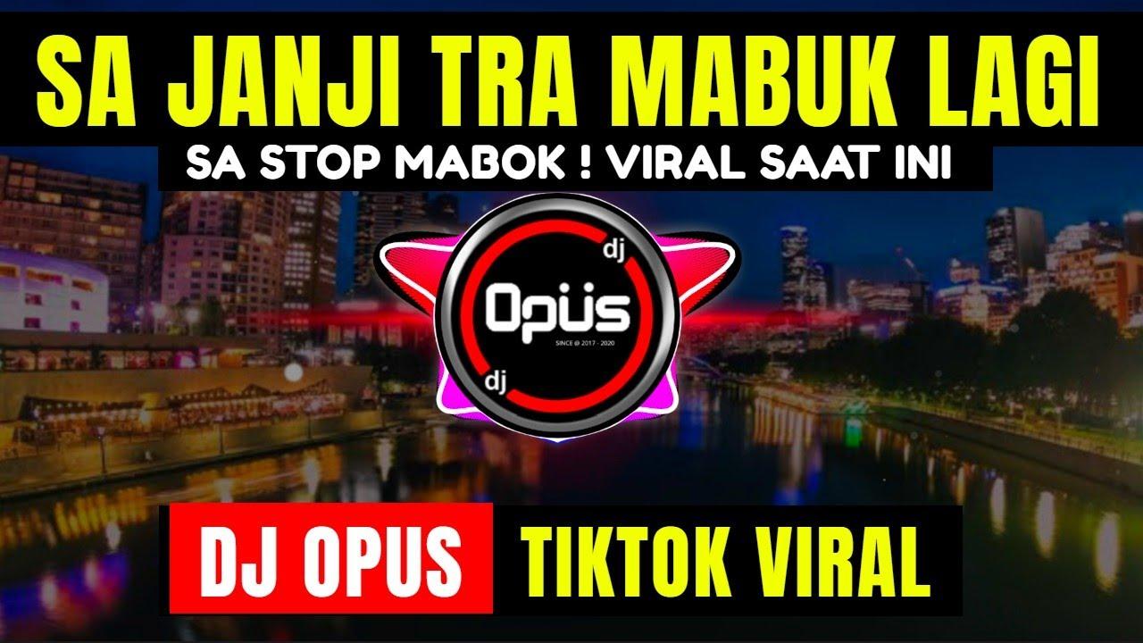 DJ SA JANJI TRA MABUK LAGI TIK TOK VIRAL 2021 | DJ SA STOP MABOK REMIX