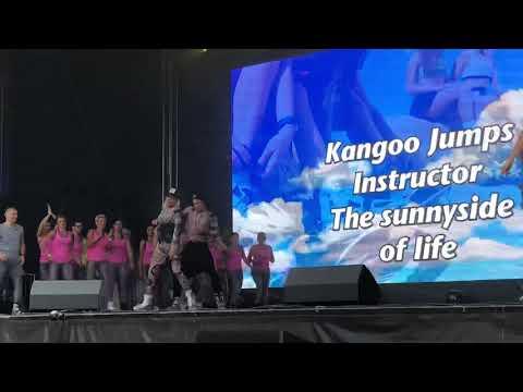 KANGOO JUMP DANCE - World Fitness Day 2018 by Frankfurt Runner #Fitness