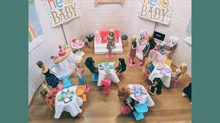 Barbie's Baby Shower!