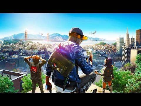 Watch Dogs 2: HACKING GOVERNMENT SERVERS - Watch Dogs 2 Cyber Driver - Watch Dogs 2 Funny Moments