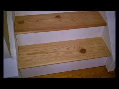 Change Carpet Stairs to Stained Wood