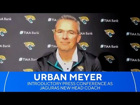 Jacksonville Jaguars introduce Urban Meyer as new head coach | CBS Sports HQ