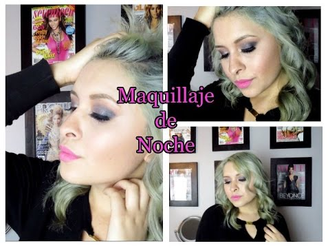 Mega Colaboración// 7 vlogers/ Maquillaje de Noche/El Rincón del Labial