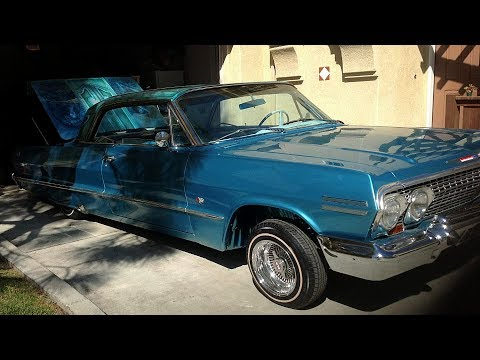 1963 Chevrolet Impala SS 2-Door Hardtop Custom Lowrider Build Project
