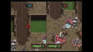 KKND Krossfire PS1 Gameplay 2 Player vs  (www.chilloutgames.co.uk)