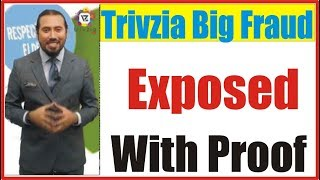 Trivzia Live Mobile Game Show Fraud Exposed With Video Proof