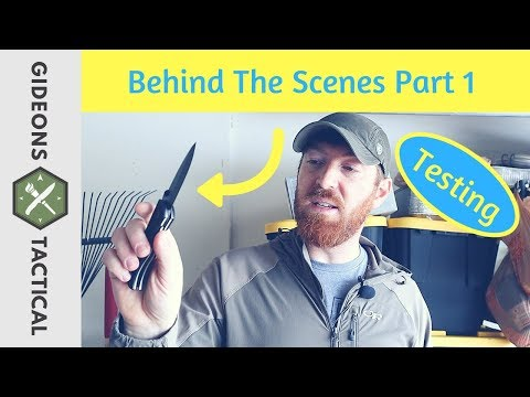 How I Test The Gear? Behind The Scenes Part1