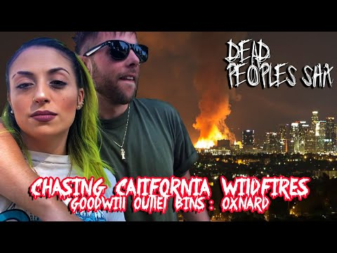 Chasing California Wildfires + Goodwill Outlet Bins In Oxnard | Dig & Dash!