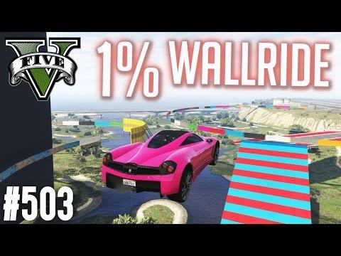 HÄRTESTER WALLRIDE IN GTA ? - 1% WALLRIDE ! (+DOWNLOAD)   GTA 5 - CUSTOM MAP RENNEN