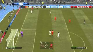 Pro Evolution Soccer 2015 ( PES 2015 ) Gameplay Champions league Match Real Madrid vs Liverpool PC