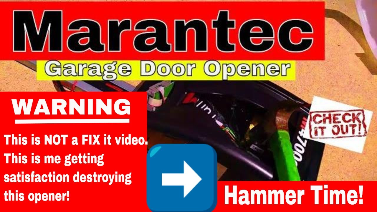 Marantec Garage Door Opener Problems Best Way To Fix It Office