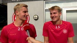 Tvillinger på Superligadebutanttavlen