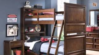 Lea 856-976r 3/3 Twin Bunk Bed From Lea Elite Expressions