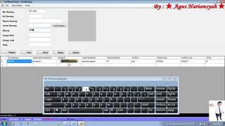 23. Cara Validasi Huruf  Di Textbox Pada VB NET / How To Validate Fonts In Textbox In VB NET
