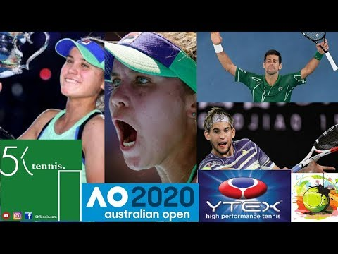 Sofia Kenin Wins 1st Major! Djokovic vs Thiem? 2020 Australian Open & Tennis Talk. HawkEye on Clay?