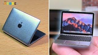 DIY Macbook Style Miniature Laptop 手作りマックブック風ミニチュアノート型パソコン