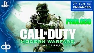 Call of Duty Modern Warfare Remastered PS4 PRO Gameplay Español | PROLOGO Campaña Parte 1