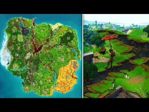 New Season 6 Map Leaked Fortnite Battle Royale Cube Event Ending