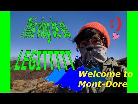 Vlog #3 : Legit(est) Travel Vlog - Mont-Dore & Clermont-Ferrand