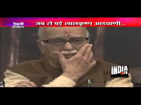 Advani get emotional on Uma's words