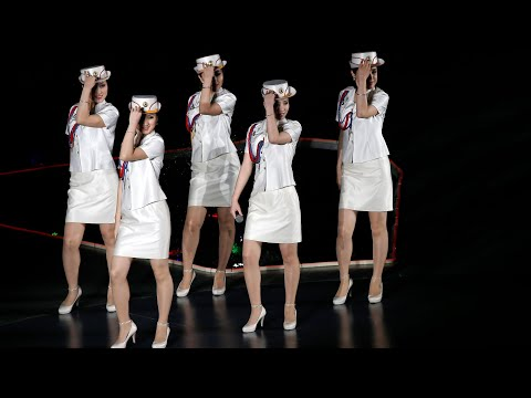 Watch hits from North Korea's most famous pop group, Moranbo