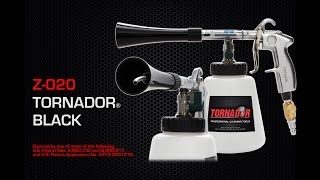 Using the TORNADOR Black Z-020 Car Cleaning Tool