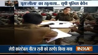 Meerut: Video of Lady Constable Alleging Department Officers of Taking Bribe Goes Viral