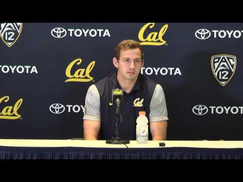 Cal Football: Davis Webb Press Conference (11/1/16)