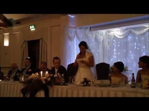 Dermot and Sinead Walsh's Wedding Speeches