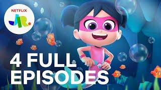 StarBeam Season 2 FЏLL EPISODE 5-8 Compilation ✮ Netflix Jr