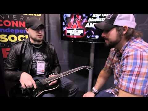 ANDY JAMES Interview & Performance - ESP GUITARS & BLACKSTAR AMPS - W NAMM 2011