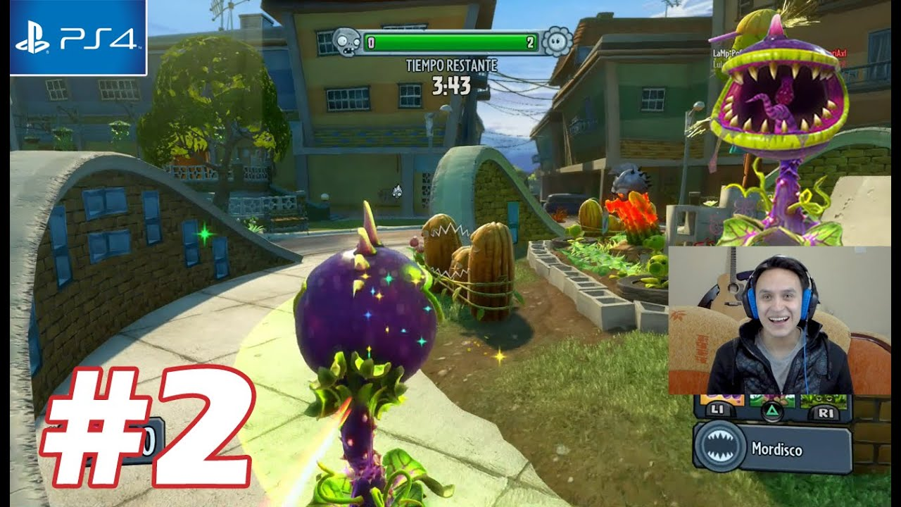 Planta Carnivora Plantas Vs Zombies Garden Warfare Ps4 Parte 2