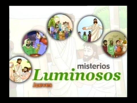 El Rosario Para Niños-Misterios Luminosos - YouTube