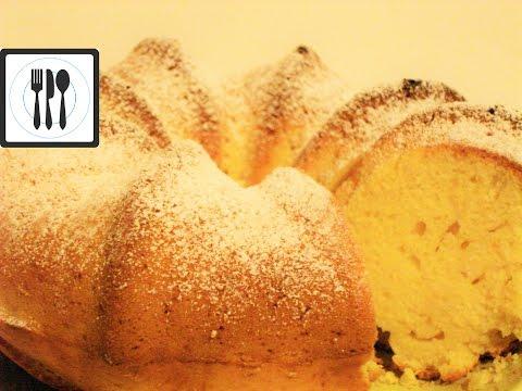 Как сделать большой кекс