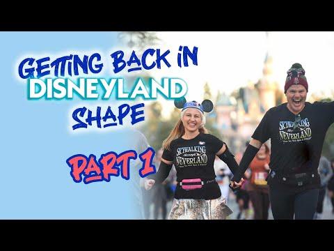 Getting Back in Disneyland Shape: Part 1 of 4 - Walking