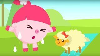 Малышарики - песенка - Доброе сердечко -  для самых маленьких - клип на песню