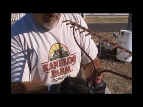 Repairing an old broken yard rake