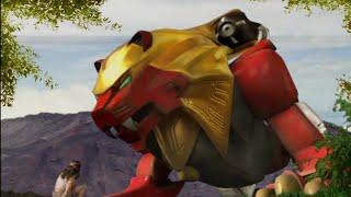 Power Ranger Fuerza Salvaje | Cole entra al Animarium y conoce a los demas rangers - Capitulo 1