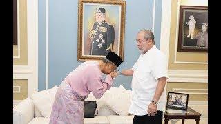 Muhyiddin spent one hour at Istana Pasir Pelangi