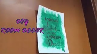 DIY- Room Decor
