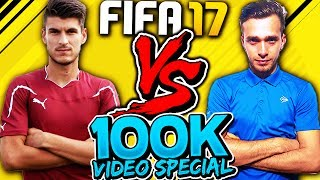 FIFA 17 1 vs 1 - Xbraker vs Cosmin Achim Castigatorul Cupei Romaniei 2017 - 100k Special ⚽🏆