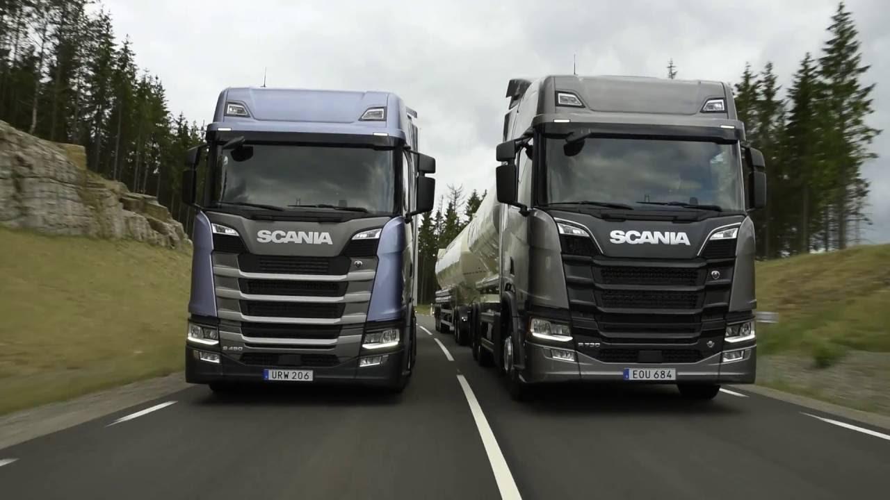 nueva gama de camiones scania youtube. Black Bedroom Furniture Sets. Home Design Ideas